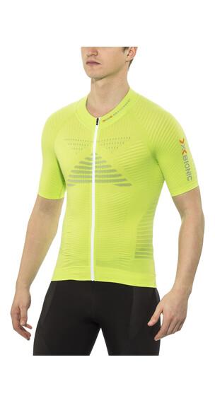 X-Bionic Effektor Biking Cykeltrøje korte ærmer Herrer grøn